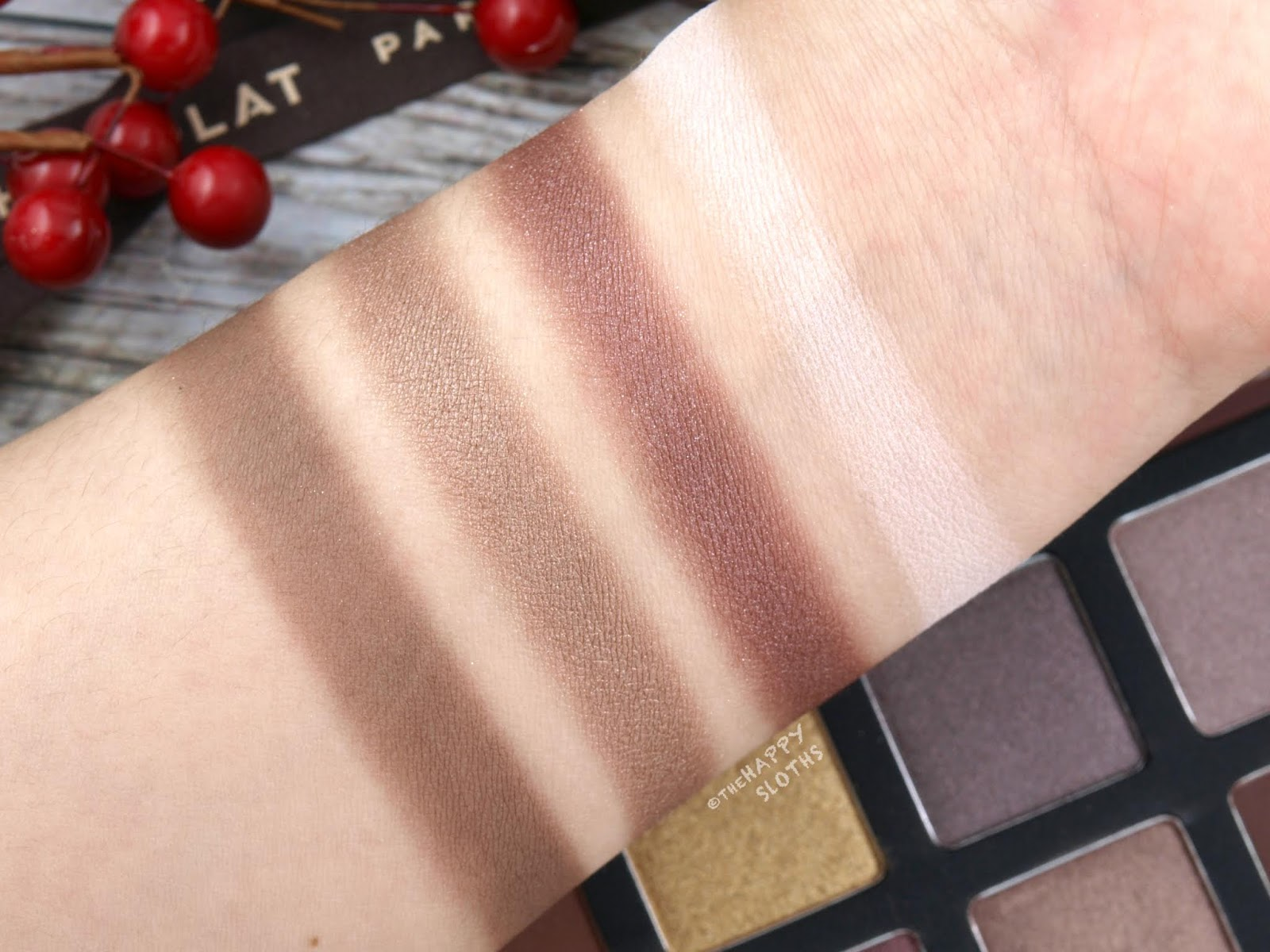 "Shu Uemura | Holiday 2018 La Maison du Chocolat Collection | Ganache & Praline Eye Palette in ""Dark Cacao"": Review and Swatches"