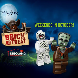 LEGOLAND Discovery Center Philadelphia, Halloween events, Halloween activities, PA attractions, LEGO