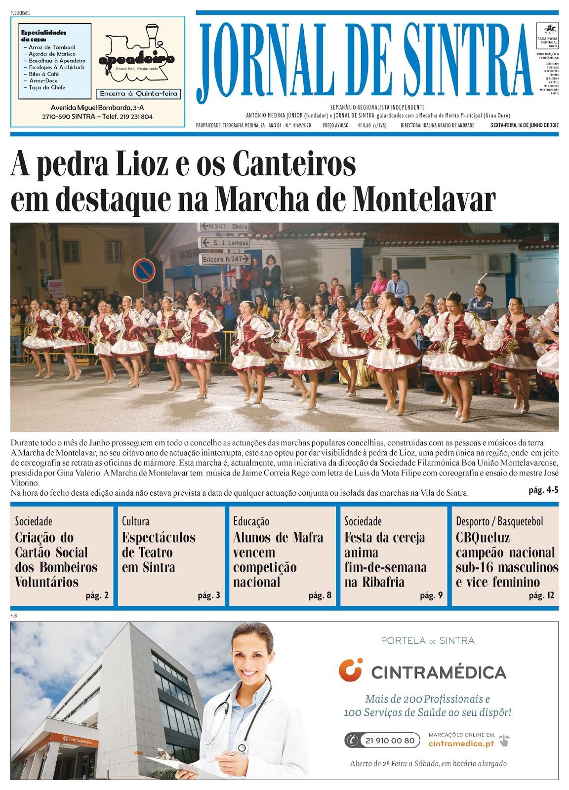 Capa da edição de 16-06-2017