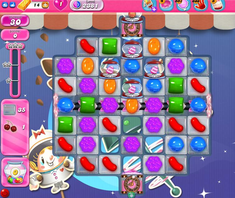 Candy Crush Saga level 2381