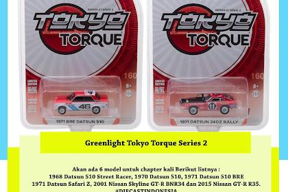 Greenlight Tokyo Torque Series 2