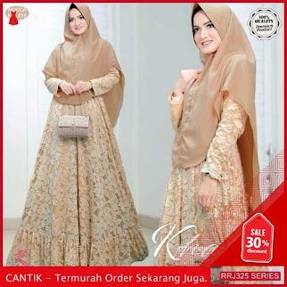 Jual RRJ325D223 Dress Muslim Khalila Wanita Syari Wd Terbaru BMGShop