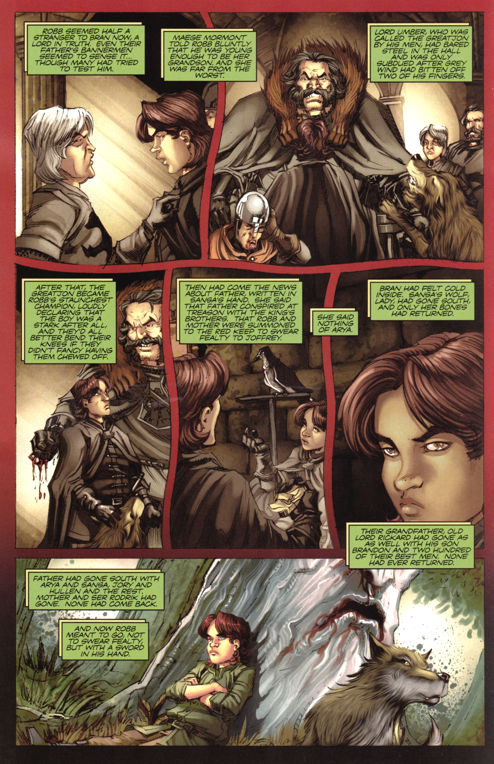 Read online A Game Of Thrones comic -  Issue #17 - 18
