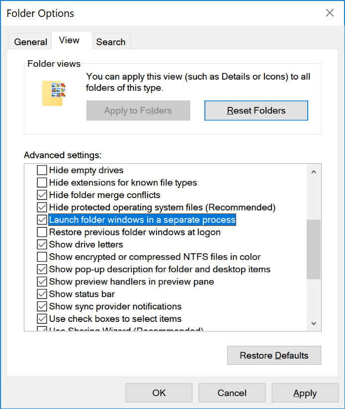 Randomly Learned: Fixing File explorer crashing in windows 10