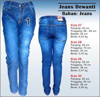 celana jeans wanita motif pecah beling   dewanti