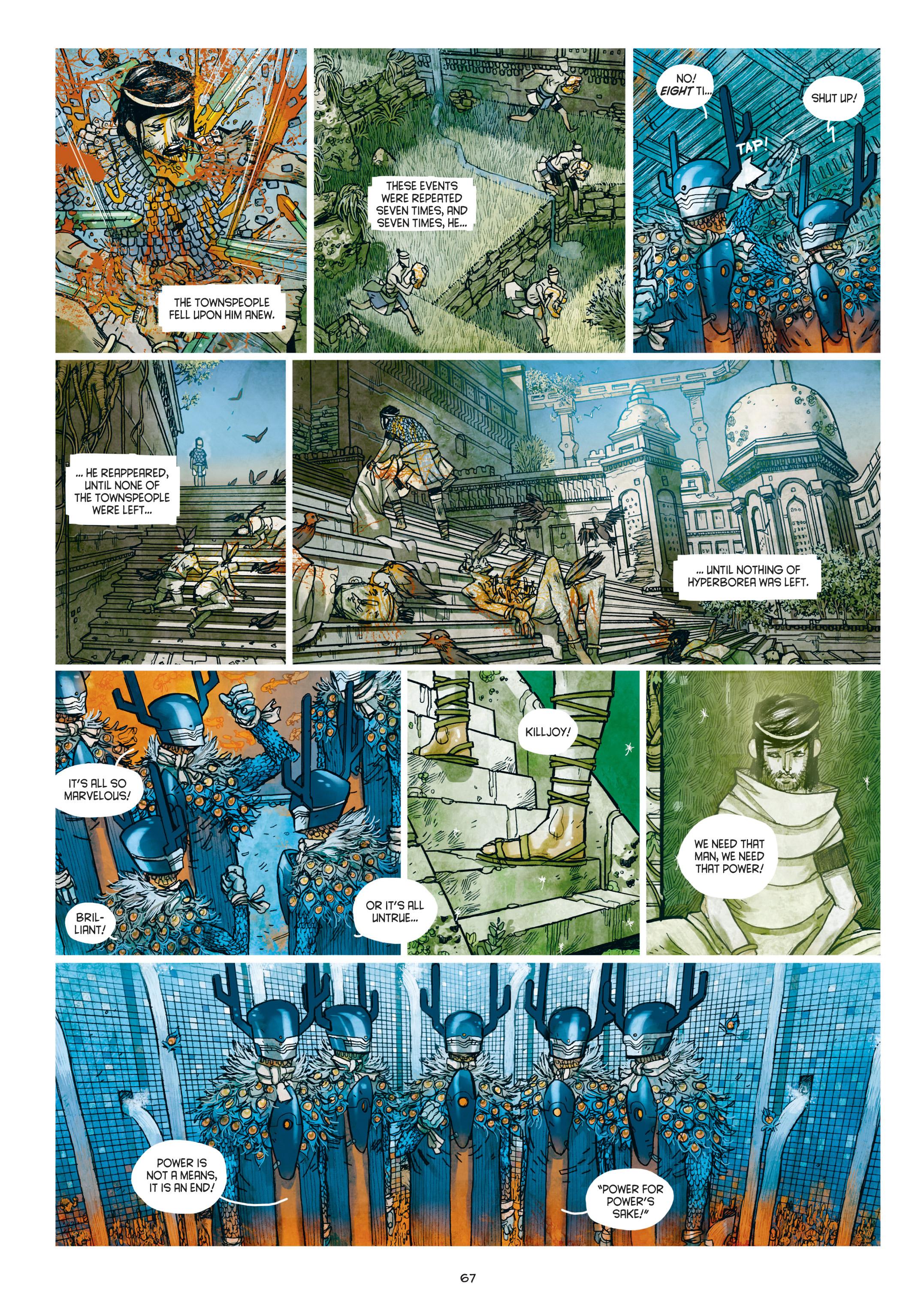 Read online Adrastée comic -  Issue #1 - 68