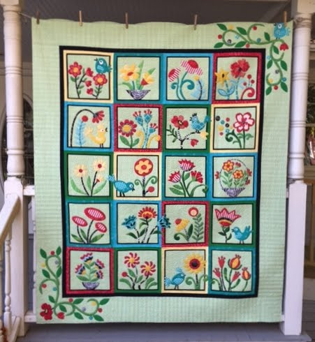 My Whimsical Quilt Garden - Jan 2017