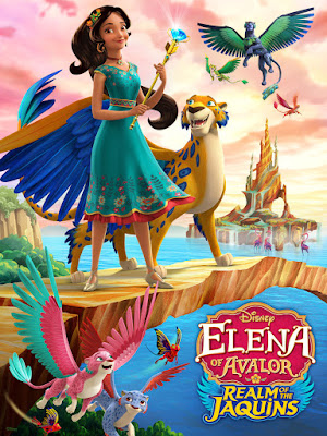 Elena Of Avalor Realm Of The Jaquins 2018 DVD R1 NTSC Latino