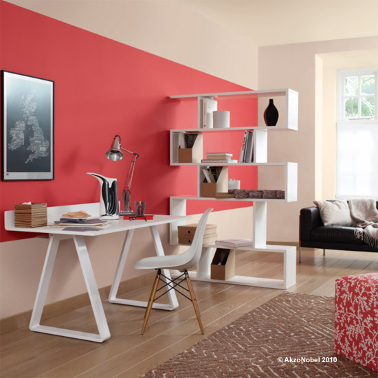 Blog achados de decora o paredes com cor s um - Zimmerfarben ideen ...