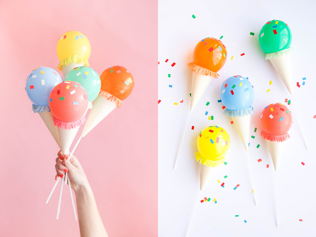 Diy helados para decorar tu fiesta m s chicos for Diy decoracion cumpleanos