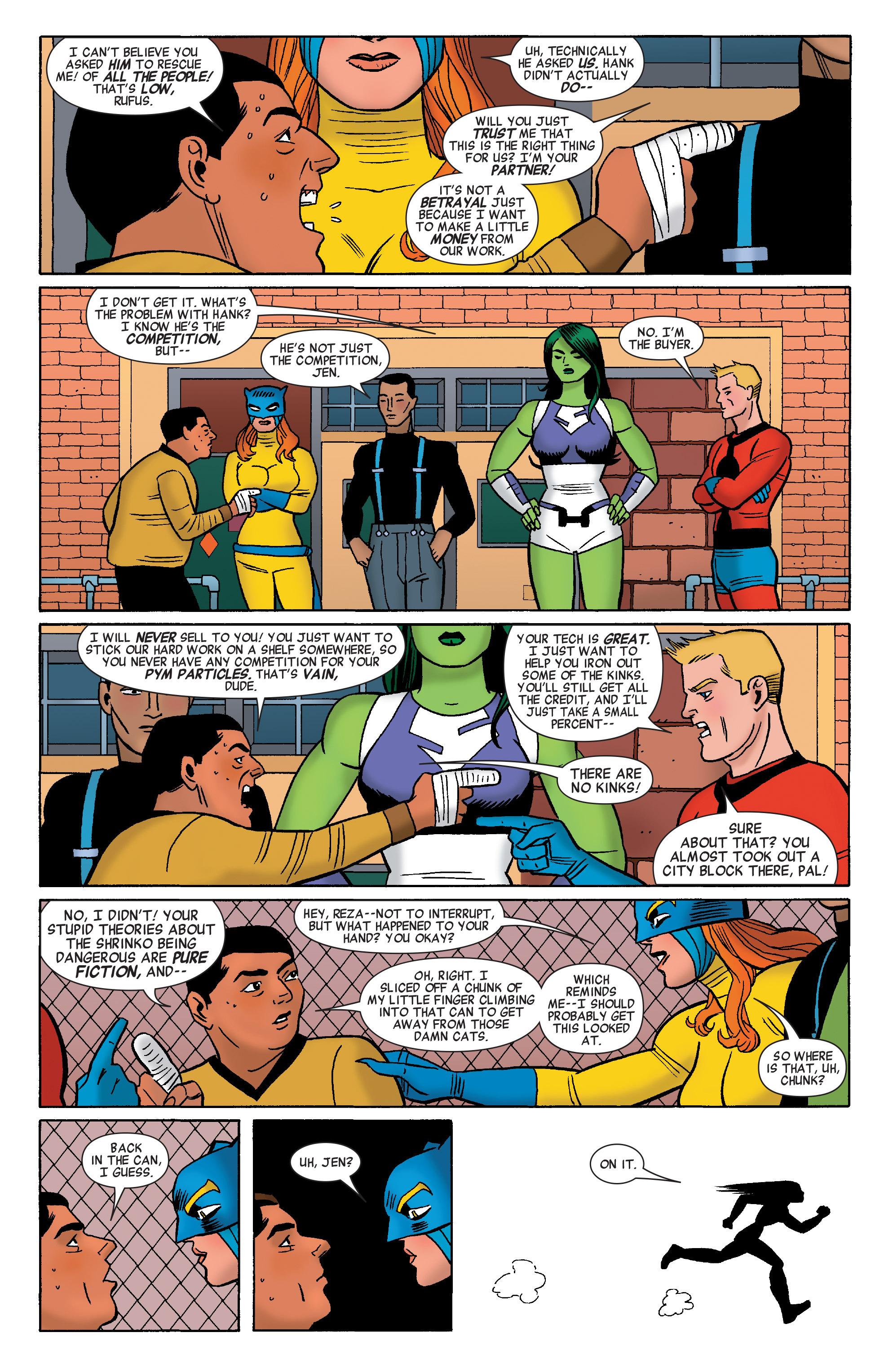 Read online She-Hulk (2014) comic -  Issue #7 - 16