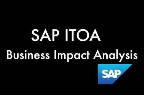 Qué es SAP ITOA