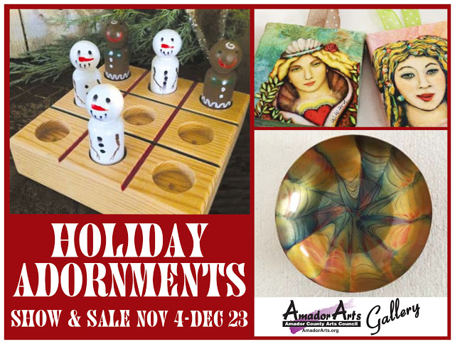 AmadorArts Gallery's Holiday Adornments Show & Sale