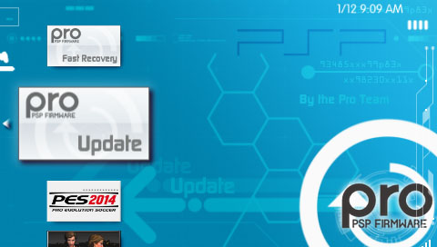 Cara Update Firmware PSP Ke Custom Firmware 6.61