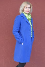 Płaszcz z wełnianego flauszu :)