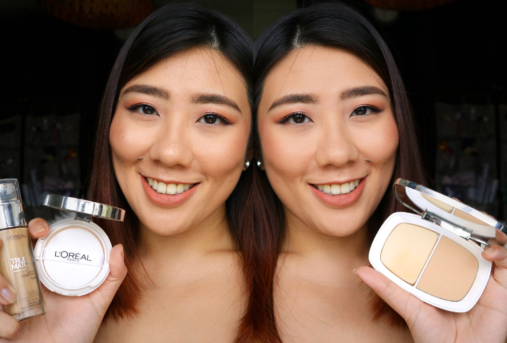 L'Oreal True Match Powder and Liquid Foundation and Cushion Review Singapore