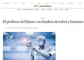 El profesor del futuro: un tándem de robot y humano