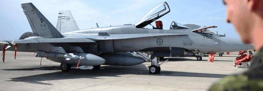 Канада обиратиме нові літаки серед F-35, F/A-18E/F та Gripen E