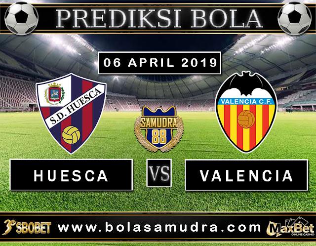 PREDIKSI SEPAK BOLA TERPERCAYA HUESCA VS VALENCIA 06 MEI 2019