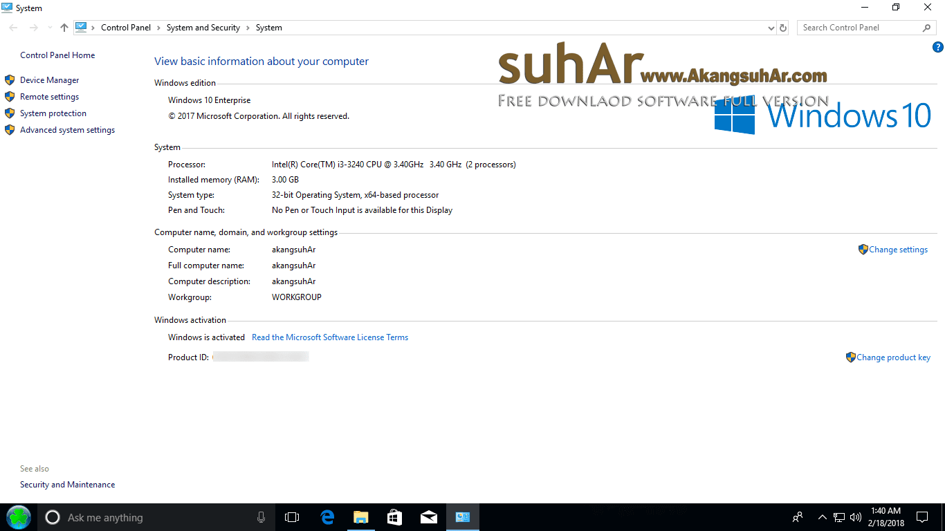 Download Windows 10 RS5 Full Serial Number