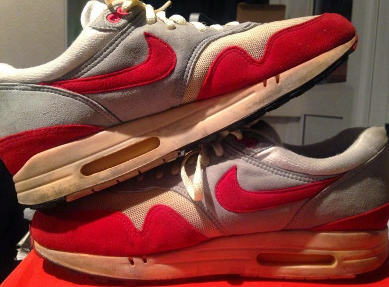 THE SNEAKER ADDICT: Original 1987 Nike Air Max 1 Spotted On