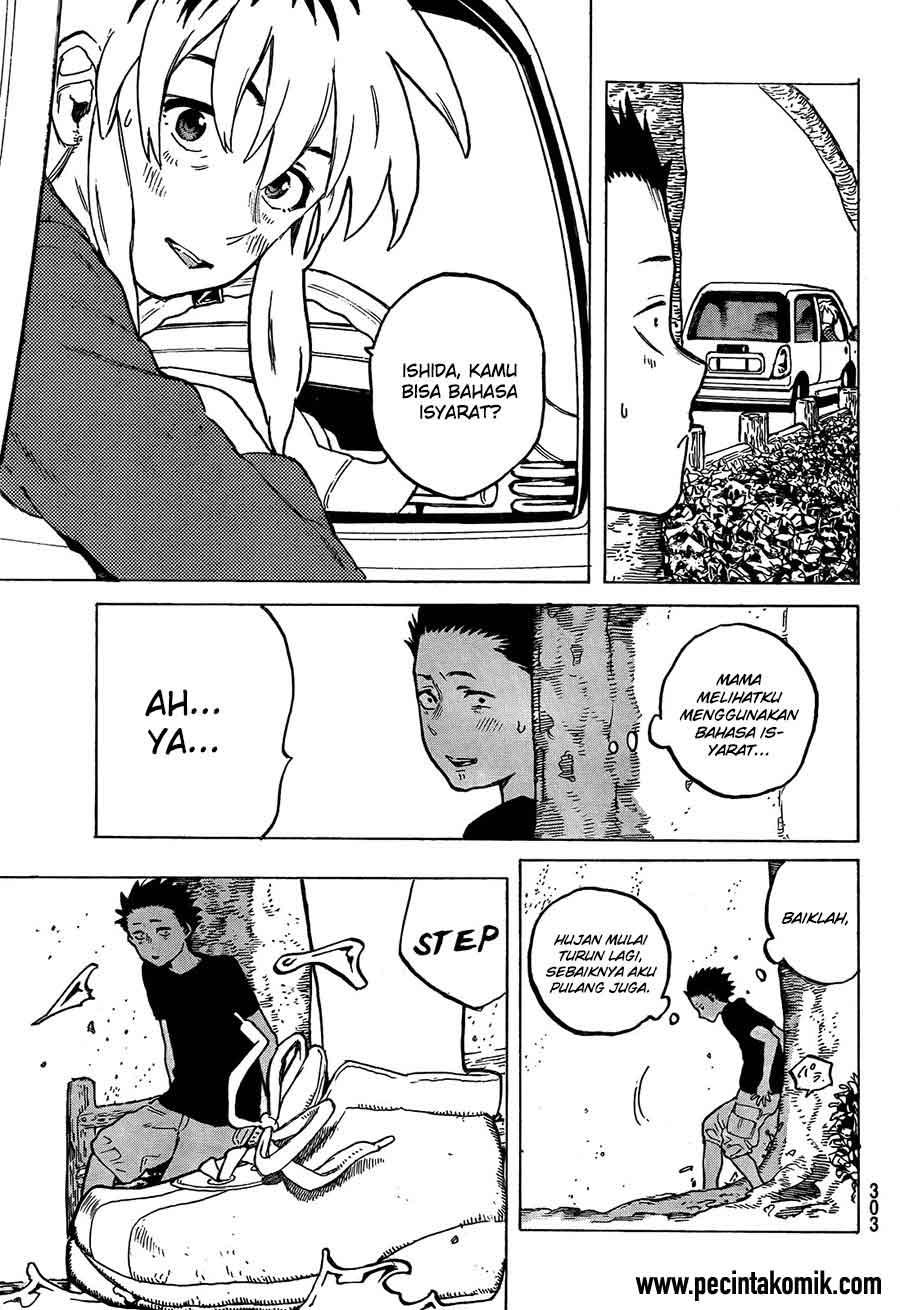 Koe no Katachi Chapter 13-16