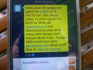 Jual Kartu Telkomsel As Sakti Bahan 8GB