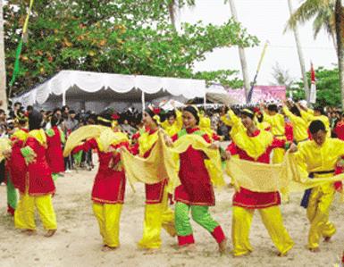 Tari Campak Ikon Kesenian Tradisional Bangka Belitung