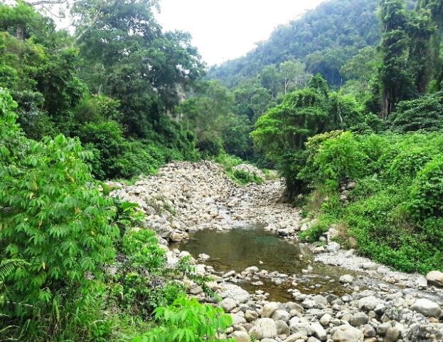 Sumber Mata Air Kali Kamwolker Mulai Mengering