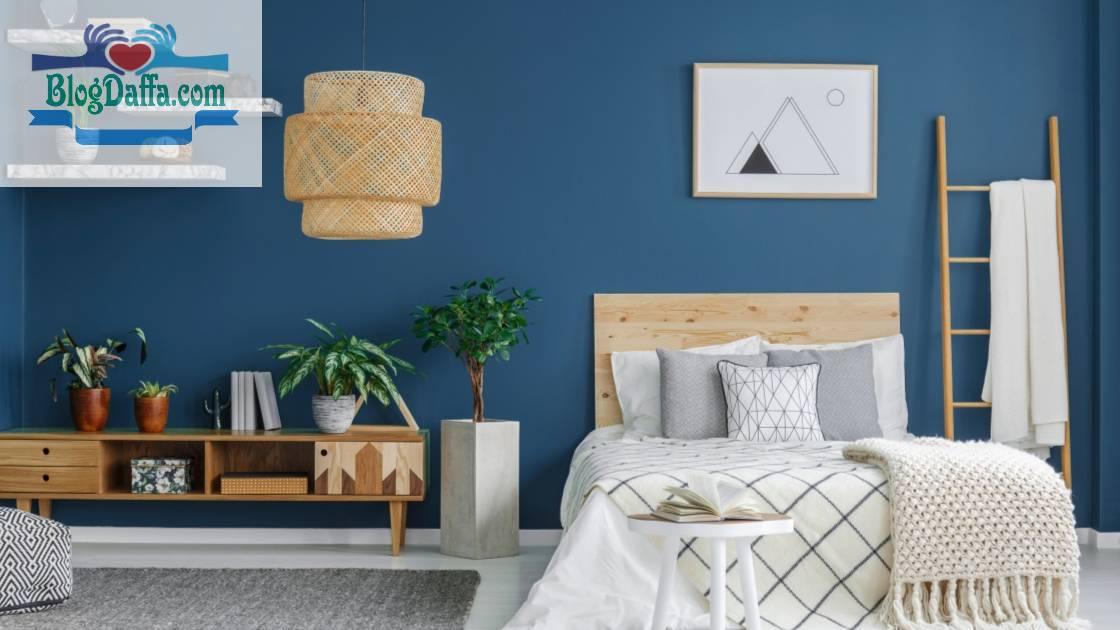 Biru Tua, Warna Cat Kamar Tidur yang Menenangkan