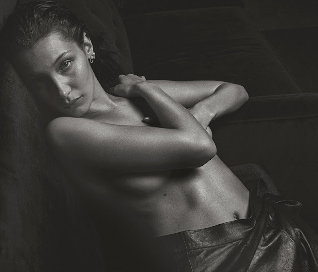 Bella Hadid bares it all for V Magazine