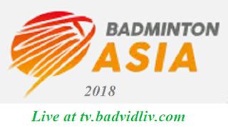 Badminton Asia Championships 2018 (Individual) live streaming