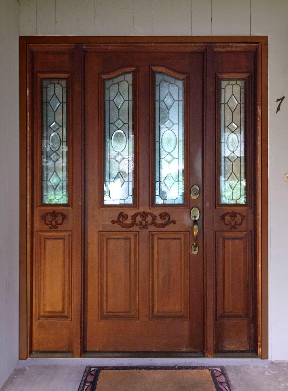 River Doors Feather River Door Bellante Wrought Iron