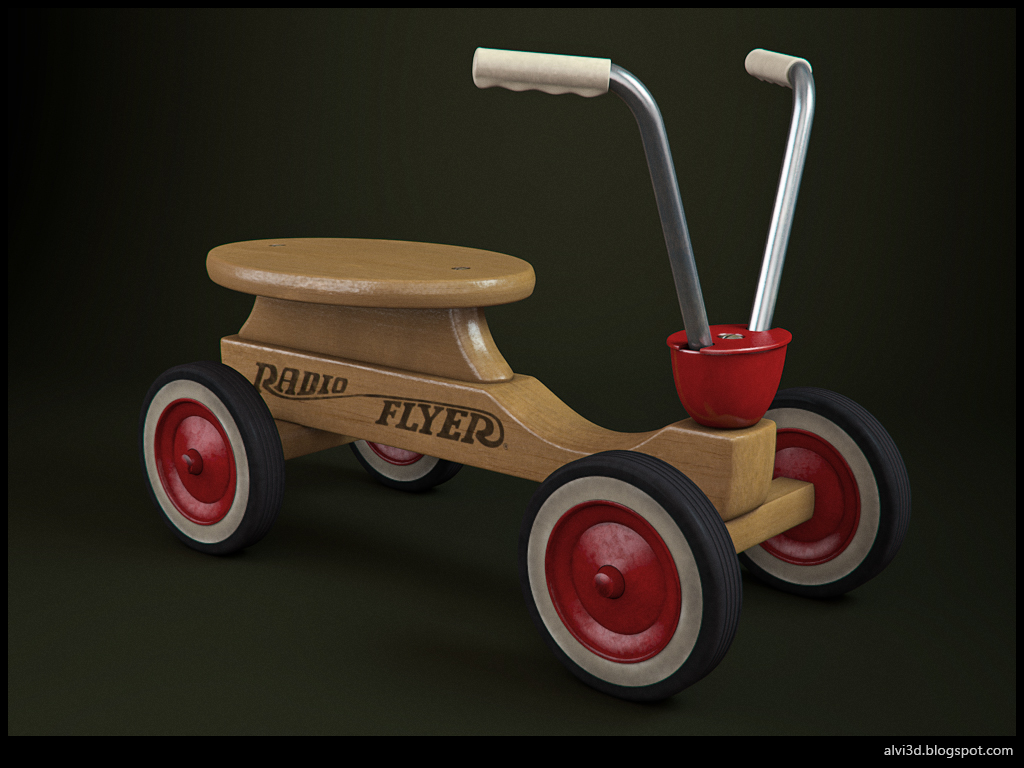3d render radio flyer1