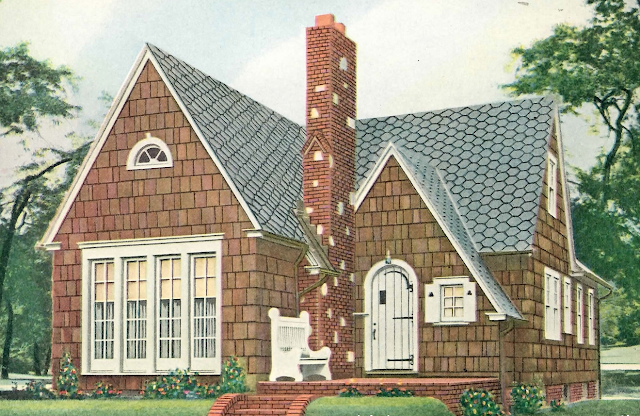 Catalog image light brown shingle exterior Home Builders Elyria