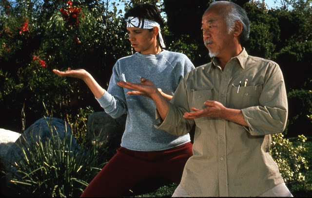The Karate Kid - Daniel and Mr. Miyagi