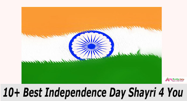 10+ Special Independence Day Shayri by anybuddyhelp