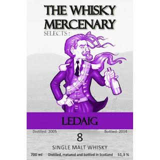 The Whisky Mercenary Ledaig 2005