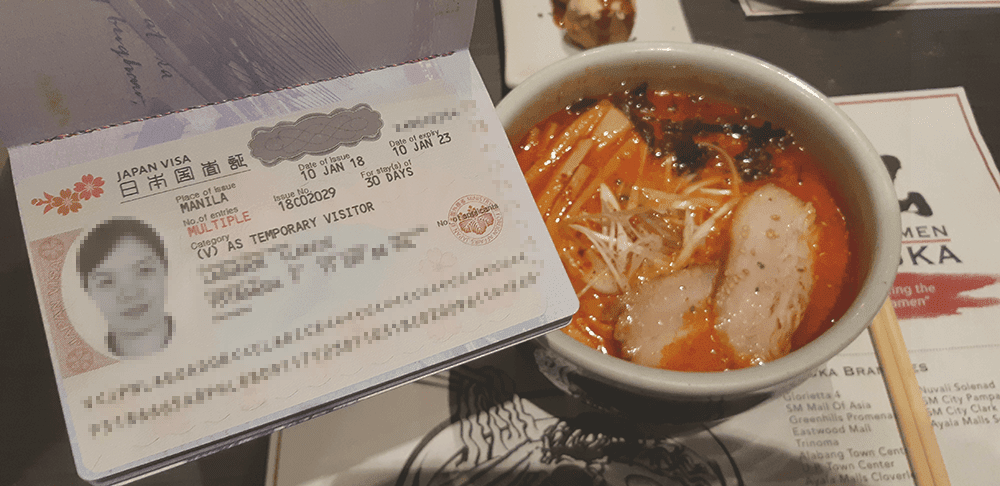 Japan Tourist Visa Filipinos
