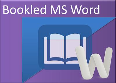 Cara membuat buku booklet di microsoft word