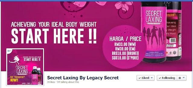 fanpage secret legacy