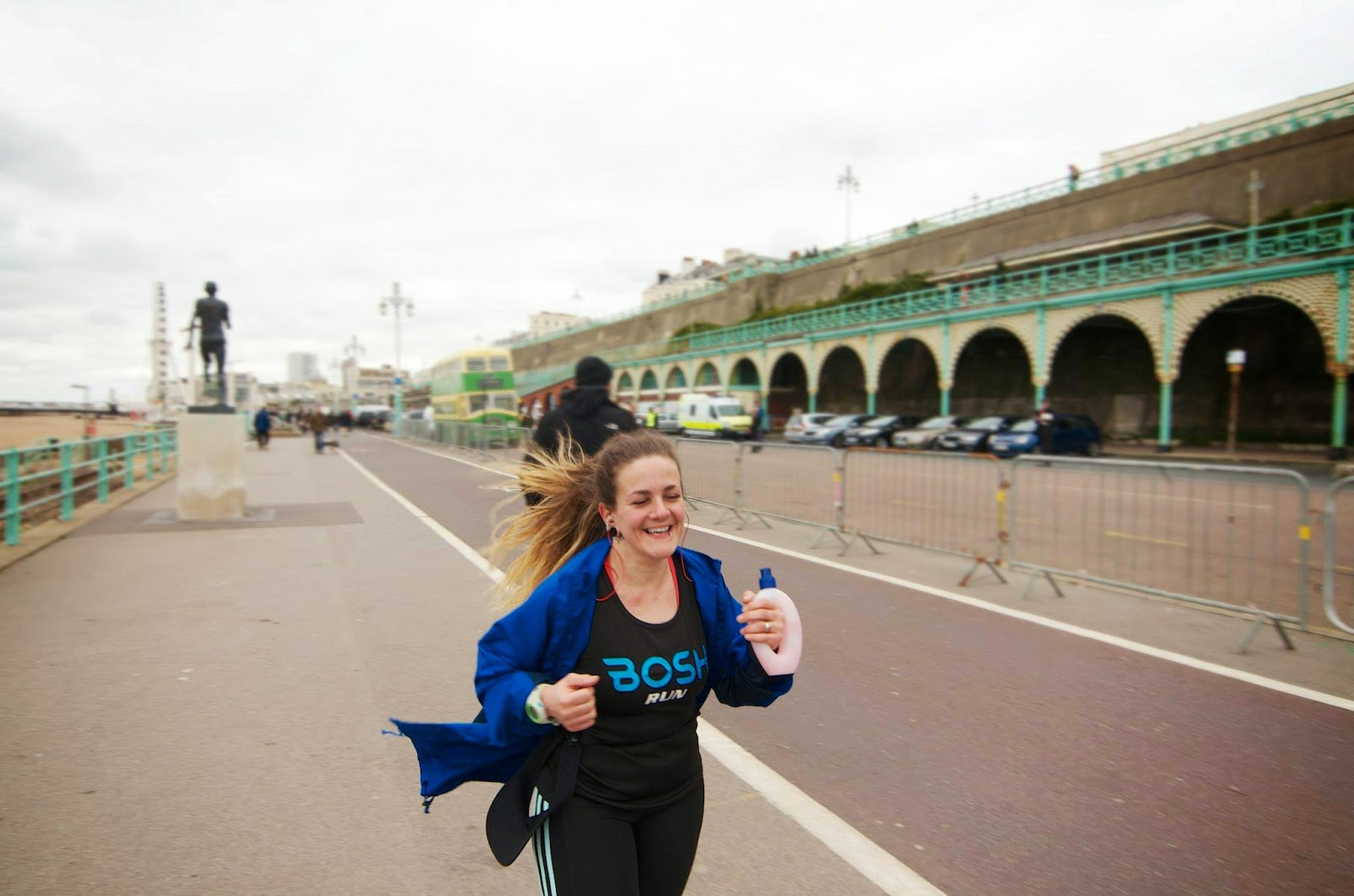 Brighton Marathon Training - Tess Agnew - photo by Mark West