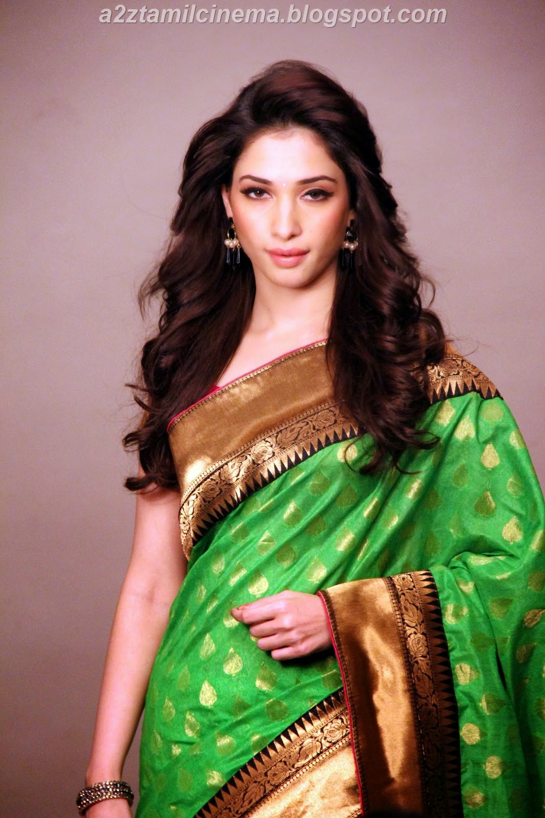Tamanna In Saree Collections