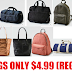 American Eagle Bags, Totes, Backpacks and Duffle Bags Only $4.99 Each + Free Shipping With $25 Order