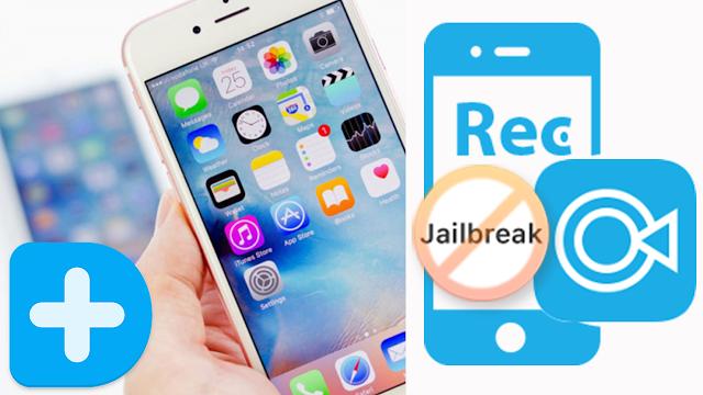 برنامج iOS Screen Recorder لتسجيل شاشة الايفون بدون جلبريك