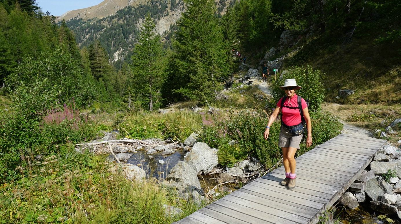 First part of trail to Lacs de Prals