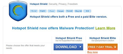 hospot shield, fake ip