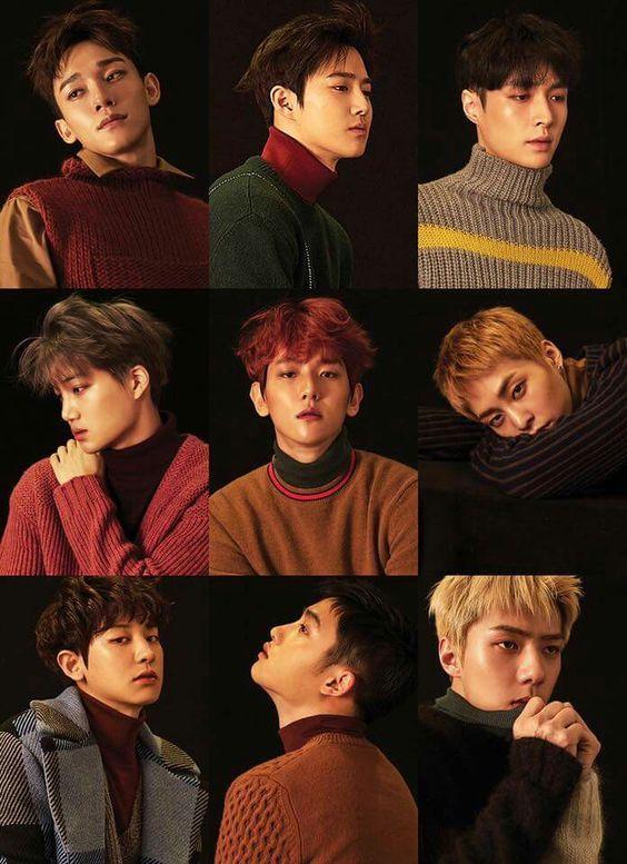 Hình nền điện thoại nhóm nhạc EXO 15