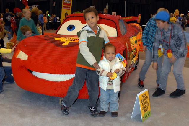Pictures from Lego KidsFest Cleveland 2011 @mryjhnsn | Lightning McQueen