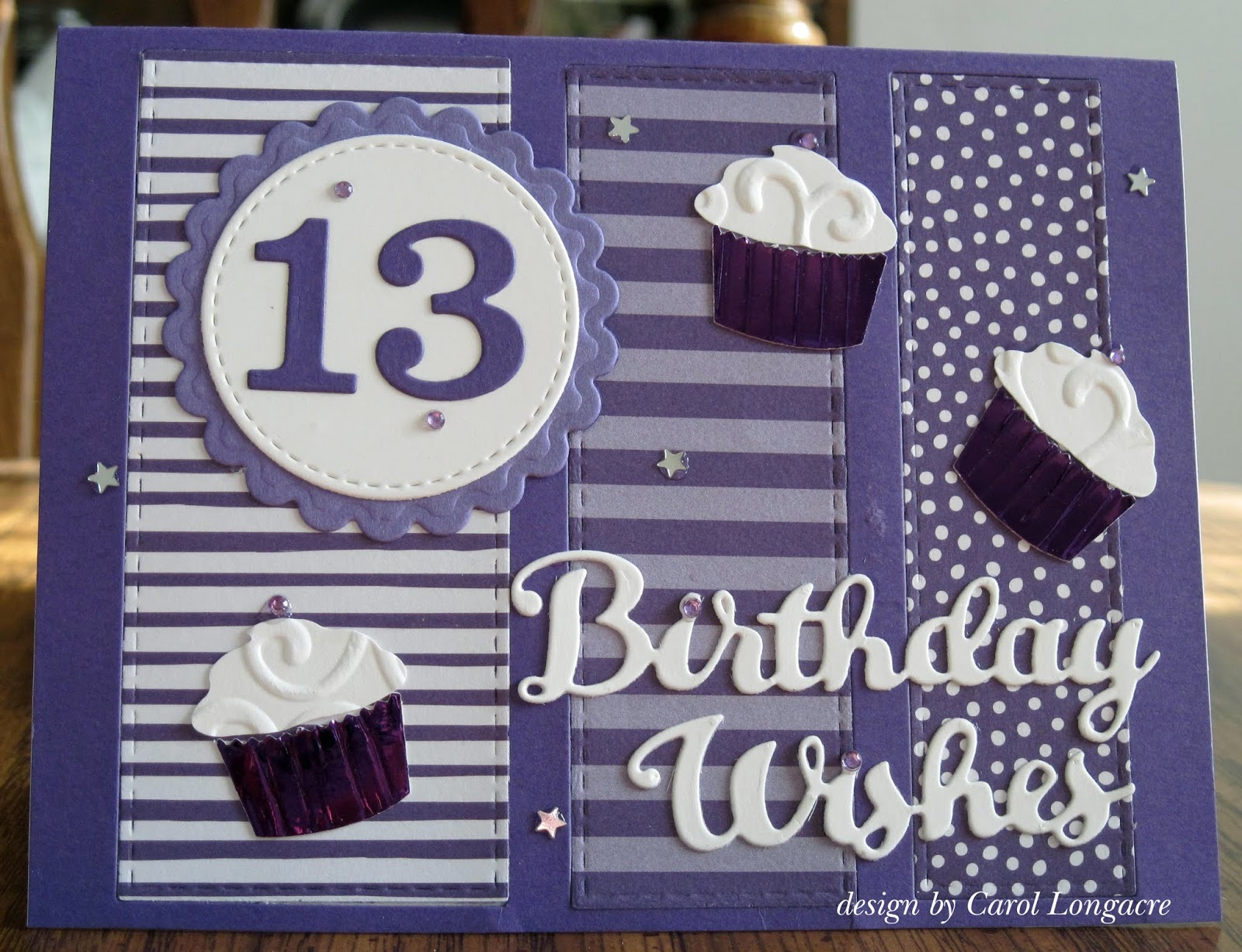 Our Little Inspirations 13th Birthday Card